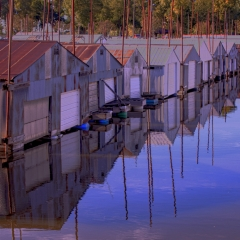 Pictorial - Floating Boathouses - Janis Bock