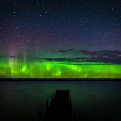 2nd Place Travel - Aurora Glow UP MI - Marianne Diericks