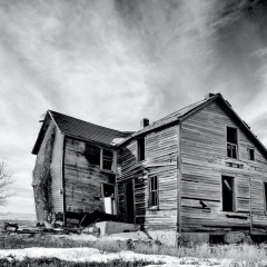 Honorable Mention - Black-and-White - Abandoned - Mike Chrun