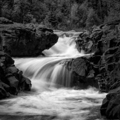 07 Hidden Falls on the Temperance River