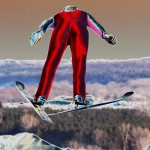 Contemporary Acceptance - Ski Jumper by Jeff Bucklew