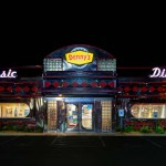 Assignment - Night Photography - Denny's at 2 am by Terry Butler