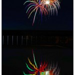 Assignment - Reflections - Table Firework Reflection by michael Herrem