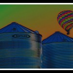 Creative - Balloon On The Farm by Michael Herrem