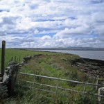 Travel - Orkney Fence Line by Mary Jane Haemig