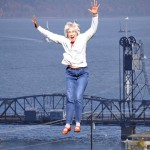 Assignment - Creative - Gail Bridge Jump by Sue Oberstar