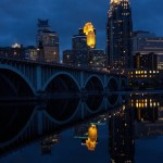 Realistic - Minneapolis across the River by Mike Waterman