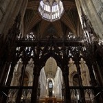 Travel - Standing In The Choir Ely Cathedral by Amanda Bierbaum