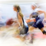 Creative - Basketball Blur by Michael Huber