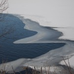 Assignment Realistic - ce & Snow on the St. Croix by Linda Donaldson