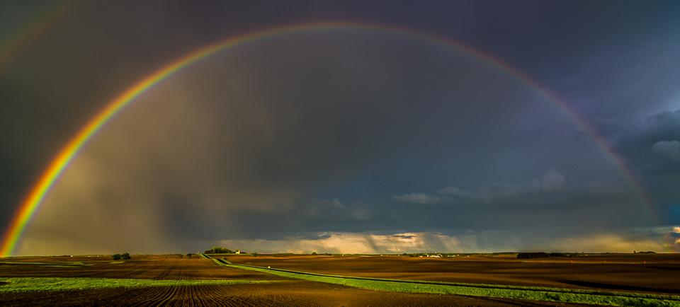 Rainbow over 110th Ave - Lori Moilanen