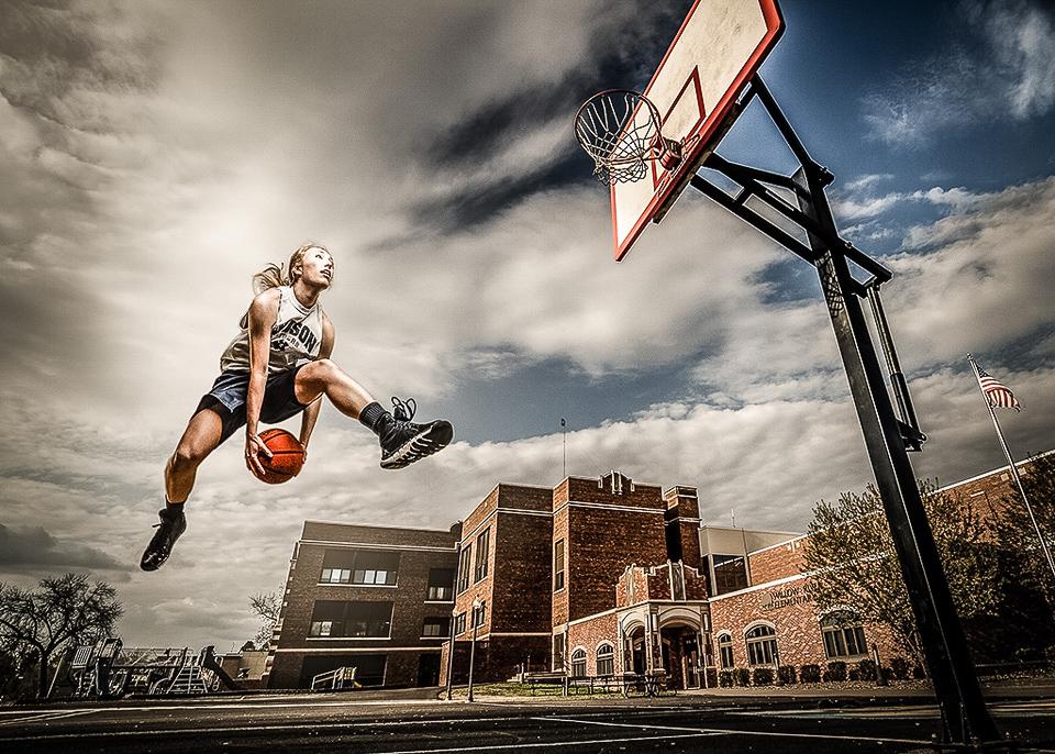 Basket Ballin LG- Michael Huber