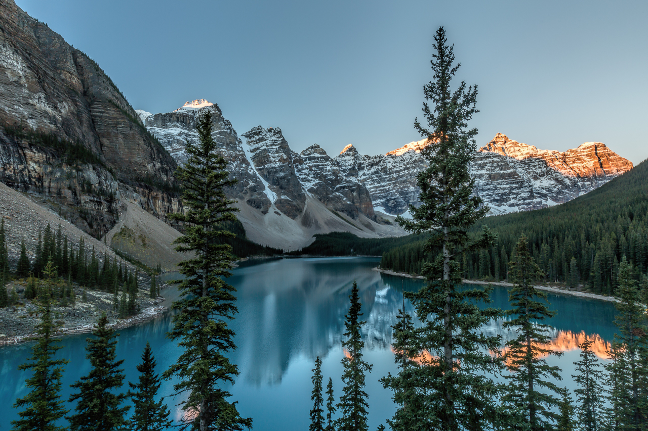 Moraine Lake; Banff National Park, Alberta, Canada