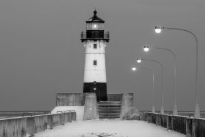 No 10 - Winter Lighthouse